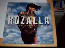 "ROZALLA - ARE YOU READY TO FLY, 4 TRACKS, 1992, (PULSE 8 12"" SINGLE)"