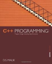 C++ Programming: Program Design Including Data Structures by D. S. Malik, 6th Ed