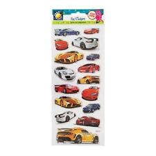 """CRAFT PLANET FUN FOILED STICKERS """" CARS """" FOR CARDS & CRAFT"""