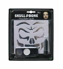 New ListingSkull Makeup Kit Lipstick Scary Special Effects Halloween Fancy Dress