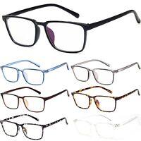 Unisex Classic Smart Square Office Style Glasses Anti-Blue Light and UV400 Block