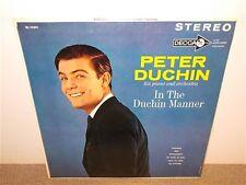 Peter Duchin Piano Orchestra . In The Duchin Manner . Stereo . Decca . LP