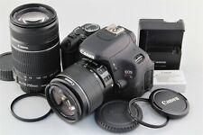 Excellent+++ Canon EOS X5 (Rebel T3i / 600D) w/ 18-55mm+55-250mm lens