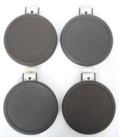 4x Roland PD-8 Dual Trigger Electronic Snare or Tom Drum Pads