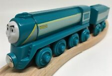 Thomas Wooden Railway Connor MINT RETIRED Streamlined Train Set Engine Tender