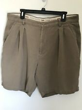 Tommy Bahama Silk Shorts Men's Tag  Size 38 Relax Fit Beach Casual Golf Walking