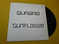 """Maxi Single-12""""-Quazar – Sunflower (VG+/EX)  Seven Stars Records 1994 Trance"""
