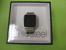 Pebble Time Steel Smartwatch for Apple/Android Devices - Gray 511-00023 - New