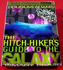 Douglas Adams Hitch-Hiker's Guide To The Galaxy Primary+Secondary 4-Tape Audio
