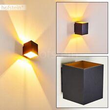schwarze Design Up Down Wand Lampen Flur Dielen Büro Wohn Schlaf Zimmer Leuchten