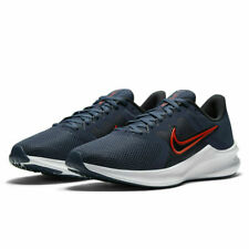 Nike Downshifter 11 Running Shoes Navy Blue White Red CW3411-400 Men's NEW