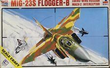 ESCI 1:48 MiG-23S Flogger B Russian Mach 2 Swing Wing Interceptor Kit #SC-4022U