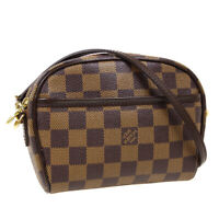 LOUIS VUITTON POCHETTE IPANEMA SHOULDER BUM BAG #XS VI0094 DAMIER N51296 O03119
