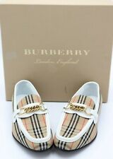 NIB Burberry Moorley Vintage Check Loafers 7.5 37.5  New  $620