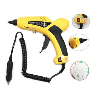 Durable Professional 12V 60W Hot Melt Glue Gun Heating Craft Repair Tool For Car
