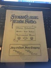 Story & Clark Music Folio , Choice Selections Antique Songbook