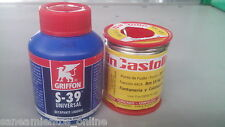 Rollo estaño-plata 3,5% AG  250 gr  + Decapante liquido S-39