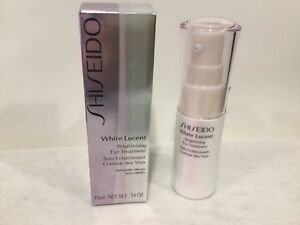 Shiseido White Lucent Brightening Eye Treatment 15ml/ .54oz New Sealed in box!