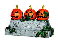 Lemax Spooky Town Halloween Three Evil Pumpkins