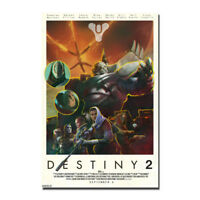 Warlock Destiny 2 The Taken King New Game Silk Poster 13x20 24x36inch
