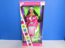Barbie 1994 Native American Barbie Doll from Dolls of the World Collection New