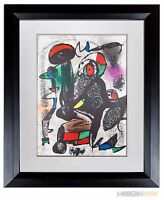 Joan MIRO Lithograph LIMITED Edition ORIGINAL + Cat. Ref: c249 +Custom FRAMING