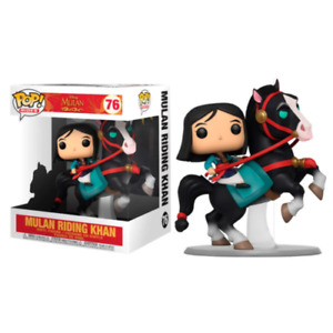 FUNKO Pop! Mulan - Mulan on Khan  #76 RIDES Disney - IN STOCK !!!