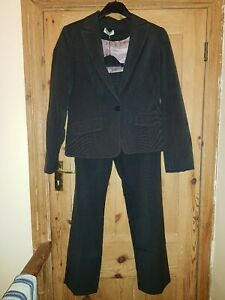 Grey Trouser Suit Size 12