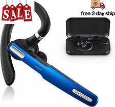 New listing 00006000  New Trucker Wireless Mic Blue Parrot Bluetooth Noise Cancelling Headset Earpiece