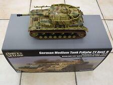 Forces of valor 1:24 Panzer IV Infrarrojo Combate R/c Tanque por waltersons * Nuevo *