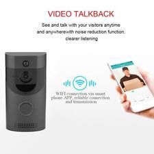 Caméra Sonnette Sans Fil WiFi Vidéo Téléphone Interphone Cloche Porte Sécurité