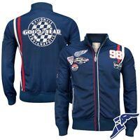Goodyear Herren Tricot Track Jacket Wellston Jacke Race Rennen S M L XL XXL 3XL