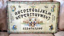 Rare Antique Hasko Mystic Board, Egyptian Theme - Queen Cleopatra - Ouija WeeJi