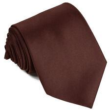 Ties For Men Satin Necktie - Mens Solid Color Neck Tie Formal, Wedding, Parties
