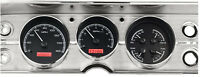 Dakota Digital 64 65 Chevelle El Camino Analog Gauges Black Red VHX-64C-CVL-K-R