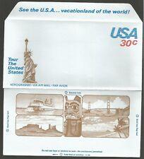 États-Unis 1980 30 c Aérogramme USA Tour The United States Pont