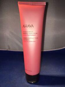 AHAVA Deadsea Water Mineral Hand Cream Cactus & Pink Pepper! NEW! 5.1 fl. oz.