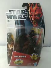 Darth Vader Slashing Lightsaber Movie Heroes MH06 Star Wars Hasbro