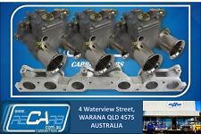 Ford 250 2V - New GENUINE Triple WEBER 45 DCOE Carburettor Set