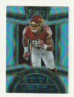 2020 Panini Select Rookie RC Chase Young Silver Prizm Selections RS-2 Washington