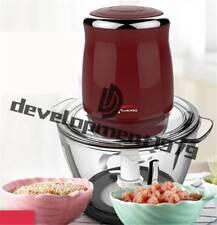 500W  Multi -function electric meat grinder vegetable Mixer chopper  220-240v