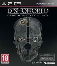 Dishonored Game of The Year Edition Ps3 PlayStation 3 UK Postage