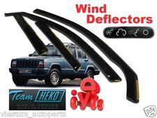 JEEP CHEROKEE  5.doors  1997 – 2001  Wind deflectors  4.pc  HEKO  19111