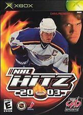 NHL Hitz 20-03 COMPLETE (Microsoft Xbox 2002) hockey Hits 2003 Midway Sports '03