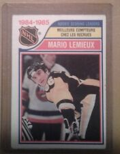 Mario Lemieux, Pittsburg Penguins,1985-86, OPC rookie. scoring leader
