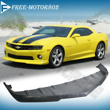 FOR 10-12 CHEVY CAMARO V8 SS FRONT BUMPER LIP SPOILER BODYKIT POLY URETHANE