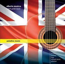 Alberto Mesirca, guitare British guitar music, New Music