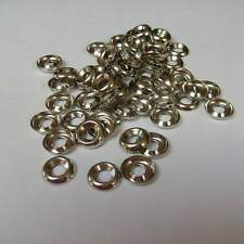100pc nickel plated speaker cabinet finish washers.