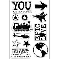 HERO ARTS RUBBER STAMPS CLEAR EPIC LOVE STAMP SET
