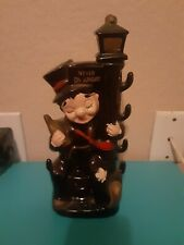 """New listing Vintage 1960'S """"Never On Sunday""""Street Post Drunk Whiskey Decanter"""
